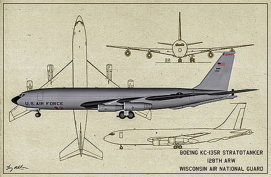 Milwaukee Stratotanker - Profile Art by Tommy Anderson