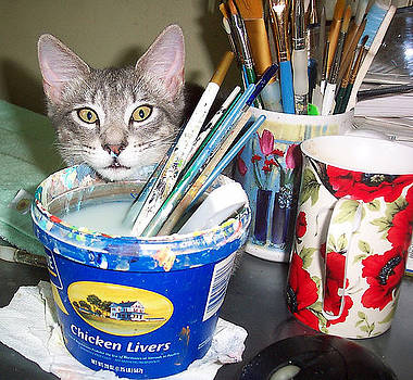 Mimi the Painter Assistant by Mary Sedici