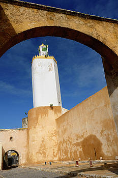Reimar Gaertner - Minaret of the Grand Mosque Old Portuguese city El Jadida Morocc