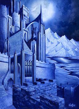 Minas Tirith by Curtiss Shaffer