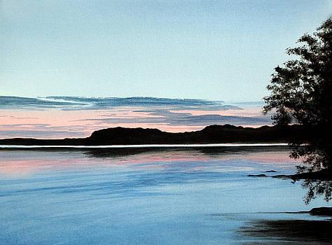 Mindemoya Sunset by Fay Reid