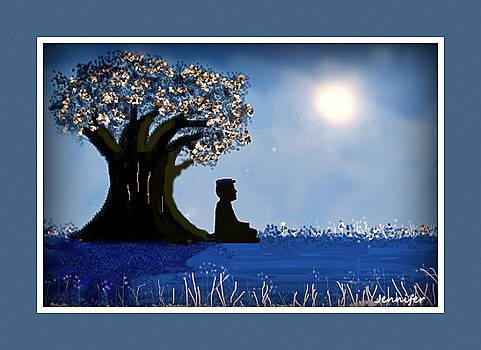 Mindfull meditation by Jennifer Miller