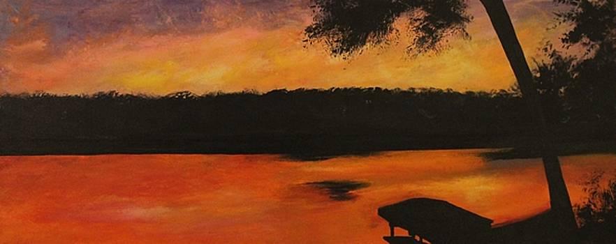 Mindy's Sunset by Joanna Deritis
