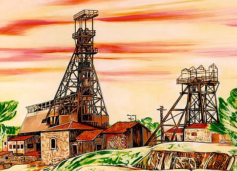 Mine Trabia Tallarita of Sommatino and Riesi by Ismaele Alongi