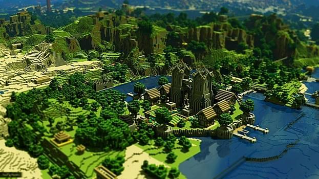Minecraft Trees Houses by Luke Lonergan by Luke Lonergan