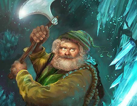 Miner dwarf by Anastasia Michaels