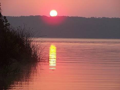 Mineral Wells Sunrise by Krin Van Tatenhove