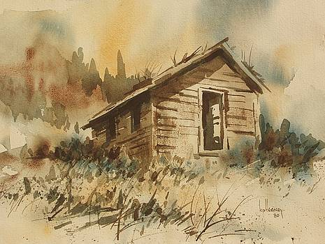 Miners Cabin  by Kevin Heaney