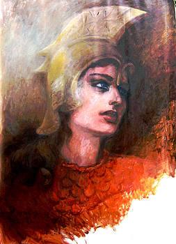 Minerva Tritonia of  Laurentium by Elisabeth Nussy Denzler von Botha