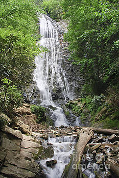 Jill Lang - Mingo Falls in North Carolina