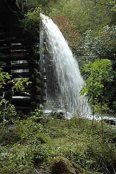 Mingus Mill Falls by Kathy Schumann