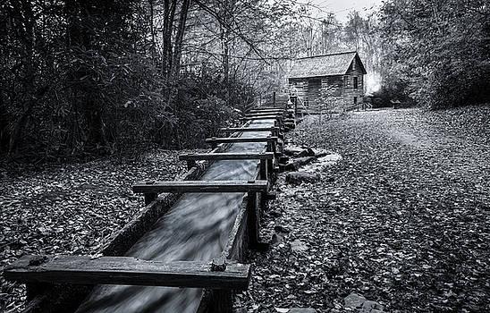 Mingus Mill Smoky Mountains by Matt Shiffler