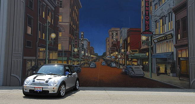 Mini at The Mural by Chris Cane