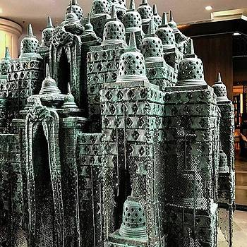 Mini Borobudur By Nyoman Nuarta by Arya Swadharma