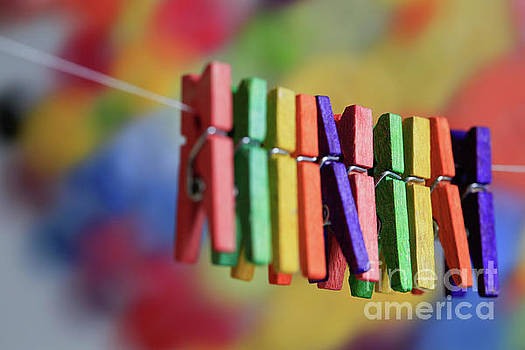 Mini Clothespins by Tracy Hall