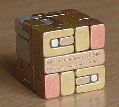 Mini-Conundrum - Puzzling Cube by Gare Maxton