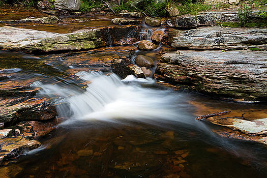 Mini Falls on the Peterskill I by Jeff Severson