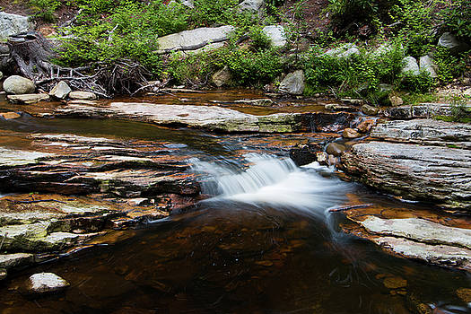 Mini Falls on the Peterskill II by Jeff Severson