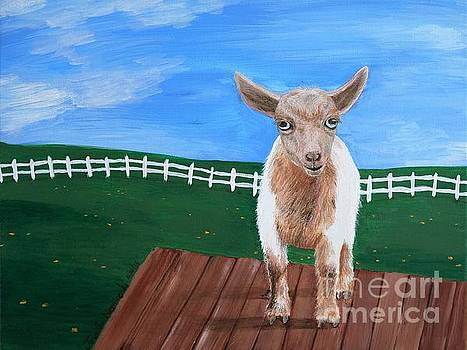 Mini Goat by Jennifer Niemiroski