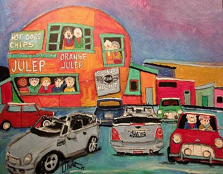 Mini Night at the Orange Julep by Michael Litvack