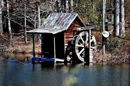 Mini Water Wheel by Tara Potts