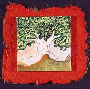 Miniature. Mr. Tree. Imaginaryscape by Antonella Manganelli