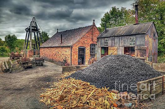 Mining Village by Adrian Evans