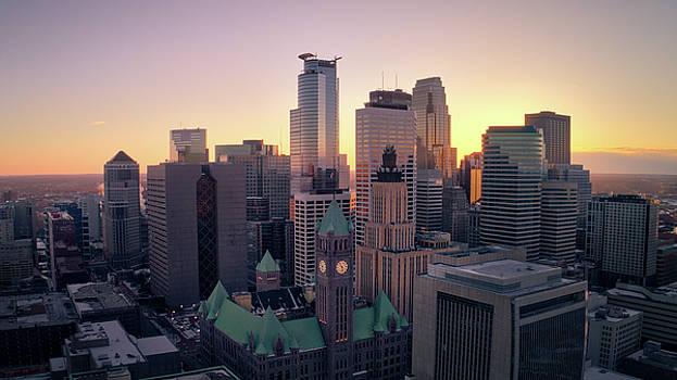 Minneapolis at Sunset by Gian Lorenzo Ferretti