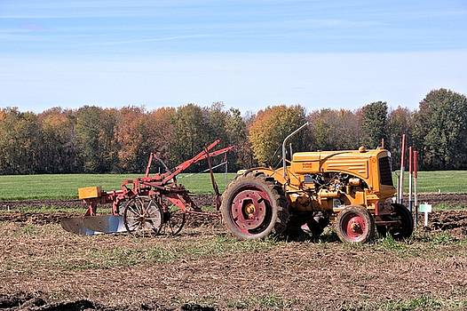 Valerie Kirkwood - Minneapolis-Moline R Tractor at a Plowing Match