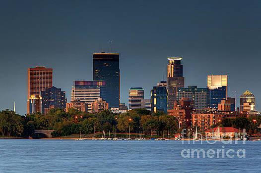 Wayne Moran - Minneapolis Skyline Photography Lake Calhoun Summer Evening