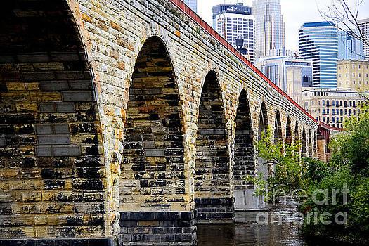Wayne Moran - Minneapolis Stone Arch Bridge Old and New