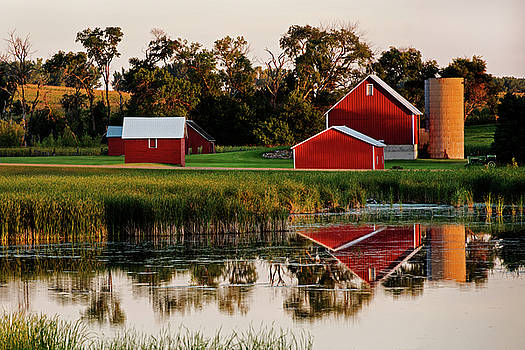 Minnesota Evening by David Lunde