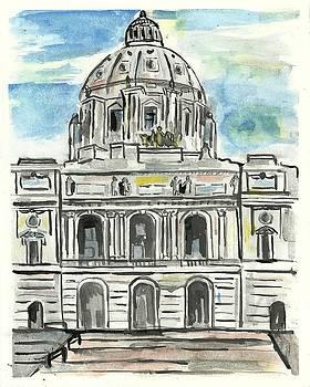 Minnesota State Capital by Matt Gaudian