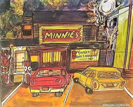Minnie's Back Door by James Christiansen