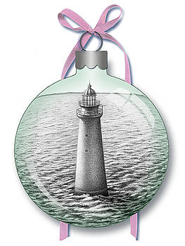 Minot Light Ornament by Donna Basile
