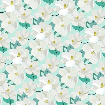 Mint Magnolias by Elizabeth Tuck