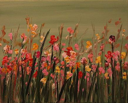 Minty Floral by Joanna Deritis