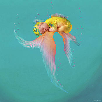 Mira as a Tropical Fish by Anne Geddes