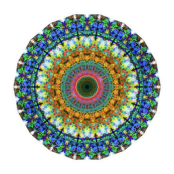Sharon Cummings - Miracle Mandala Art by Sharon Cummings