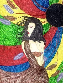 Miraculous Alluring Lady. by Tejsweena Krishan