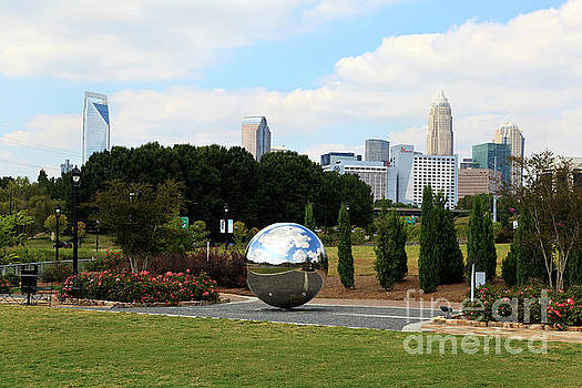 Jill Lang - Mirror Ball at Midtown Park in Charlotte
