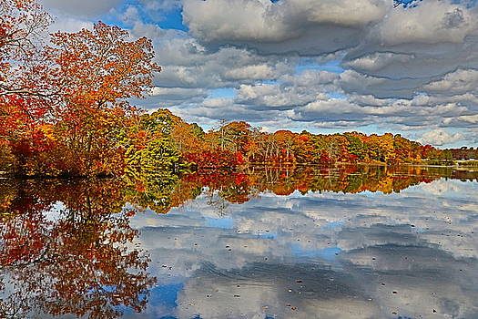 Mirror, Mirror on the Water by DVP Artography