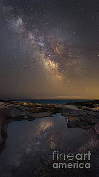 Mirror Reflections Panorama by Michael Ver Sprill