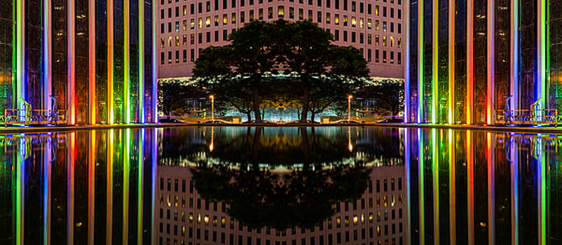 Mirrored Rainbows by Christopher Broste