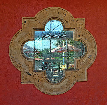 Mirrored window by Nora Martinez