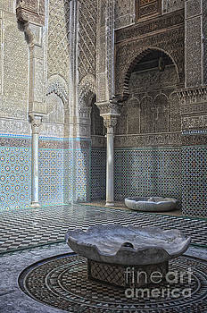 Patricia Hofmeester - Misbahiya medersa in Fez