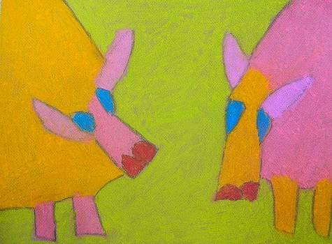 Artists With Autism Inc - Mischievous Pigs