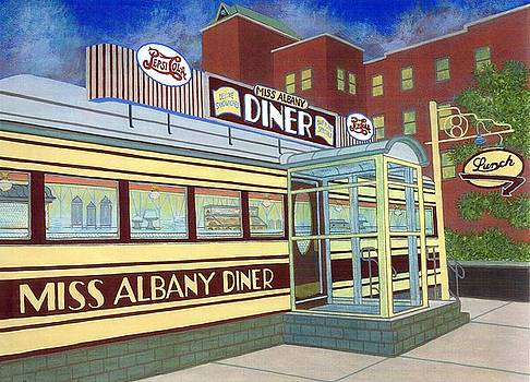 Miss Albany Diner by David Hinchen