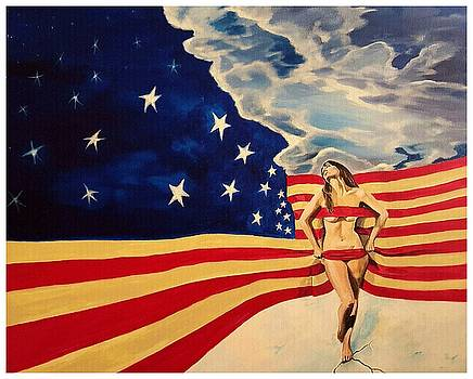Miss America? by Darren Mulvenna