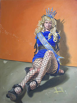 Miss Coney Island 2011 Orange by Kenneth Browne